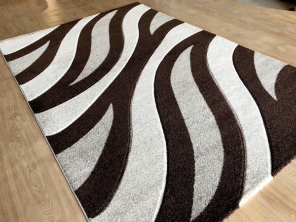 релефен килим съни  4785 визон